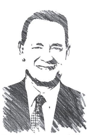 Pencil Illustration of Tom Hanks