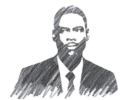 Pencil Illustration of Chris Rock Editorial