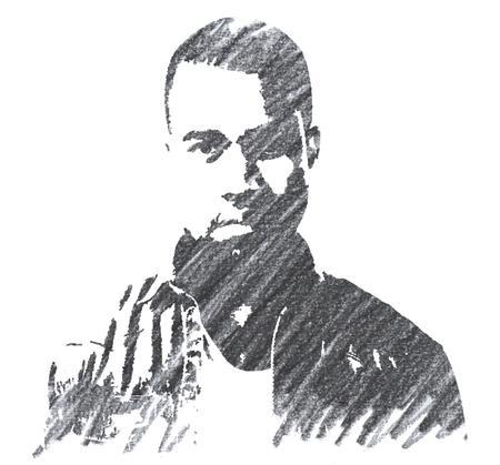Pencil Illustration of Jay-Z