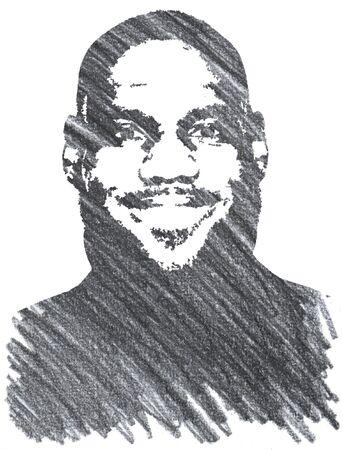 Lebron James Editorial Pencil Drawing