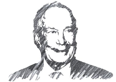 Editorial Pencil Drawing of Michael Bloomberg Sajtókép