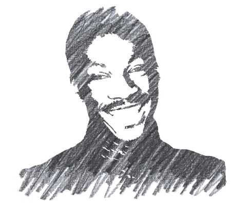 Editorial Pencil Drawing of Eddie Murphy