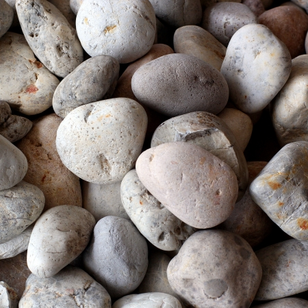 Pebble stone background or texture