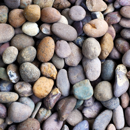 Pebble stone background or texture photo