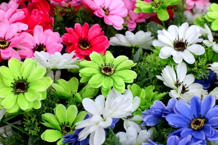 The beautiful decoration artificial flower