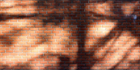 Brick wall background or texture photo