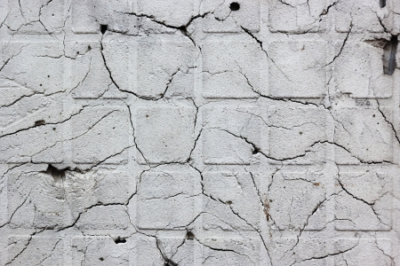 Old cracked wall as background