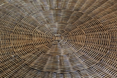 rattan mat: Woven wood pattern or background