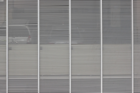 aluminium grill as background  or texture  Stock Photo