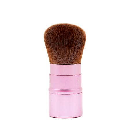 blusher: cosmetic blusher brush isolated on white background