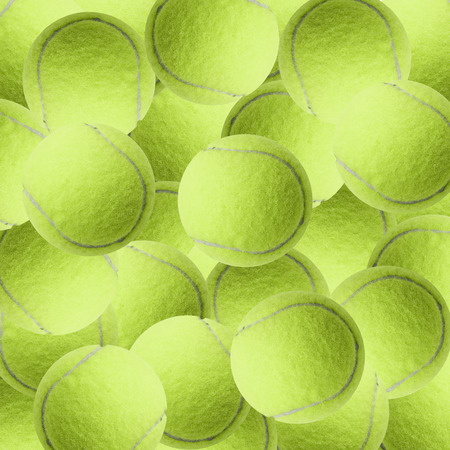 exotic yellow color tennis ball  as sport background
