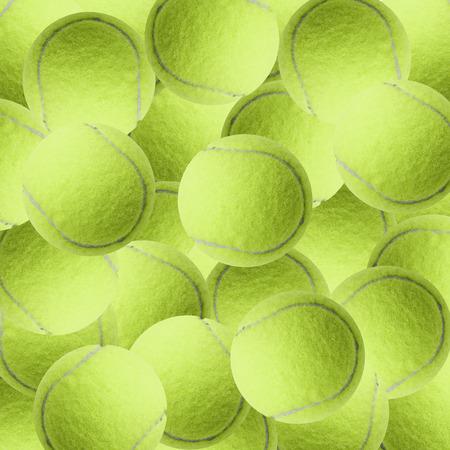 exotische gele kleur tennisbal als sport achtergrond