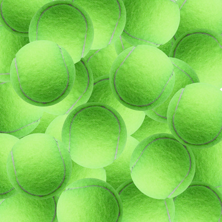 individual sport: exotic green color tennis ball  as sport background Stock Photo