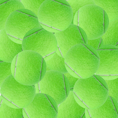individual sport: exotic green color tennis ball as sport background