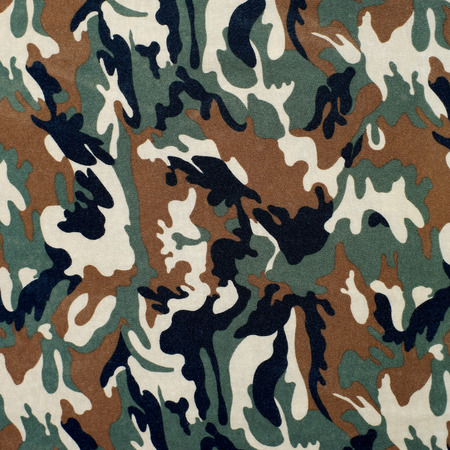 commando: camouflage as background or pattern