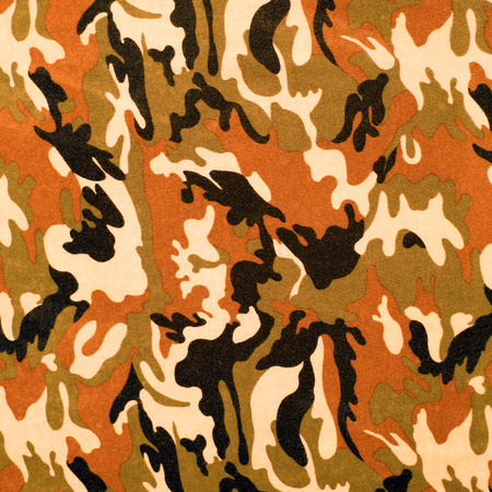 commando: exotic color camouflage as background or pattern Stock Photo