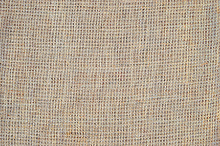 bagging: burlap or linen fabric as background or texture