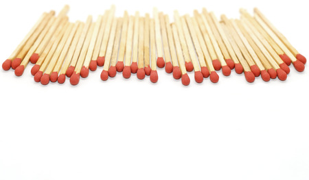 matchstick: matchstick isolated on white background