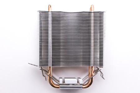 radiador: radiador de la CPU PC Foto de archivo