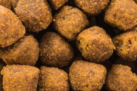 kibble: dog food macro Stock Photo