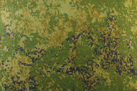 camoflage: pixel camouflage fabric