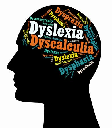 Although there have been no studies to indicate an accurate percentage, it is believed that Learning Disabilities  LD  affect between 5 and 10 percent of the population  The most common are  Dyslexia, Dysgraphia, Dysphasia, Dyspraxia, Dyscalculia and Dyso Stock Photo