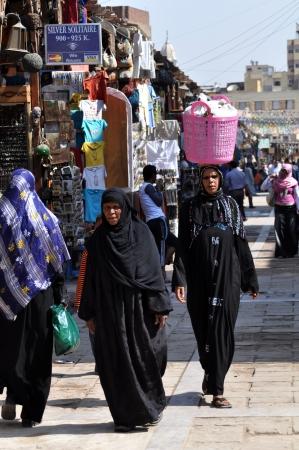 cairo: Aswan - SEPTEMBER 21 SEPTEMBER 2010: the Peace life of Egyptians in streets of the city of Aswan. Egypt  SEPTEMBER 21 2010.