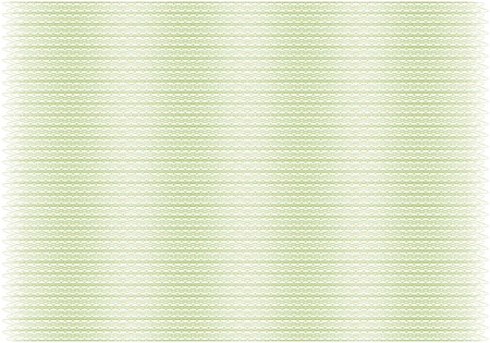 clean and empty guilloche background from two patterns Illustration