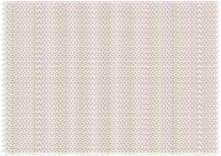 credential: clean and empty guilloche background from three patterns