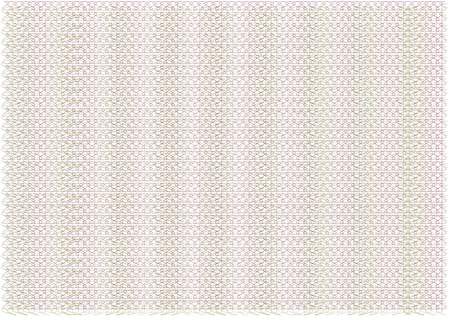 clean and empty guilloche background from three patterns Vector