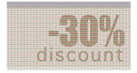 buono sconto: -30% di sconto coupon con la tutela guilloch�