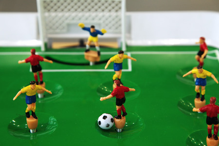 football table toy closeup photo