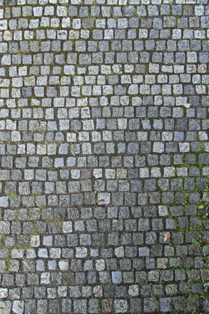 cobbled: Old Gray Cobbled Stones Road Texture