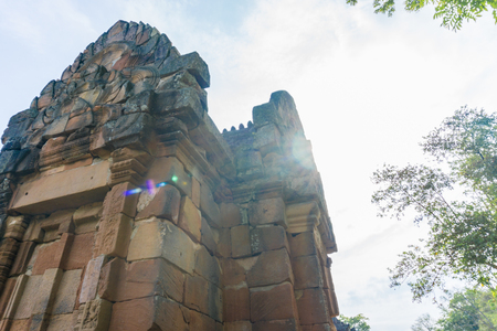 Prasat Hin Phanom Rung is one of Thailands most amazing Khmer architecture site, aged over a thousand years old. Buri Ram, Thailand