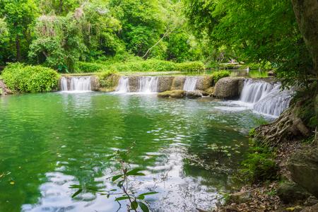 Landscape photo, Chet Sao Noi Waterfall National Park at Saraburi province of , Thailand