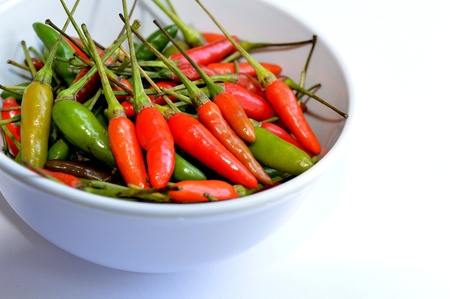 quinea pepper in a bowl