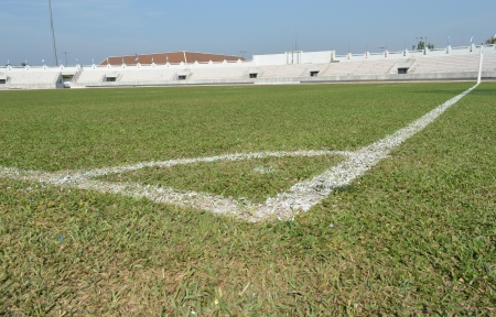 corner of football fields