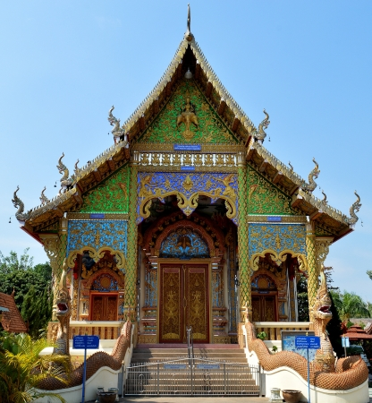 Buddhist Temple in Chiangmai, Thailand