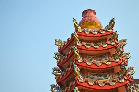 pagoda of joss house Stock Photo - 17951841