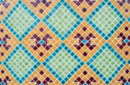 mosaic texture Stock Photo