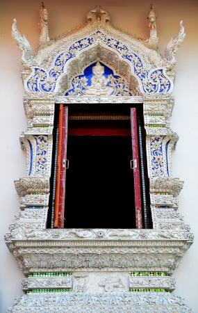 Thai style temple windows Stock Photo - 18214102