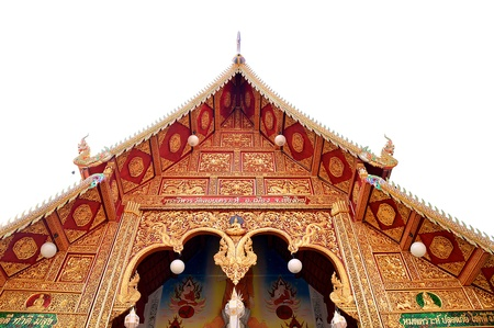 church in the Buddhist temple Stock Photo - 18214103