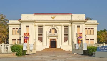 old court building in Chiangmai, Thailand