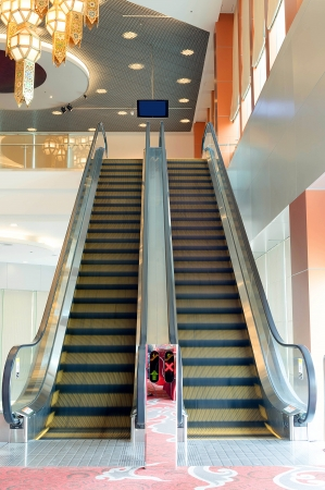 escalator in conventions center, no restrict in copy or use