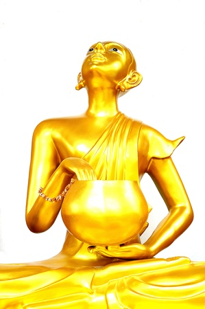 Thai Golden Buddha Statue  Buddha Statue in Thailand Stock Photo - 19492923