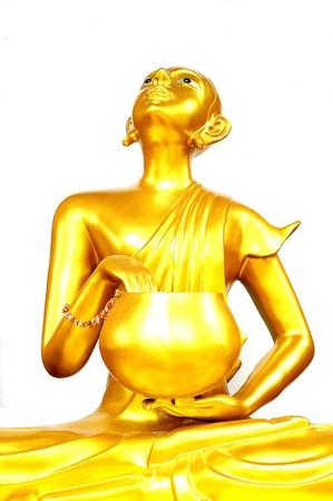 Thai Golden Buddha Statue  Buddha Statue in Thailand Stock Photo - 19492923