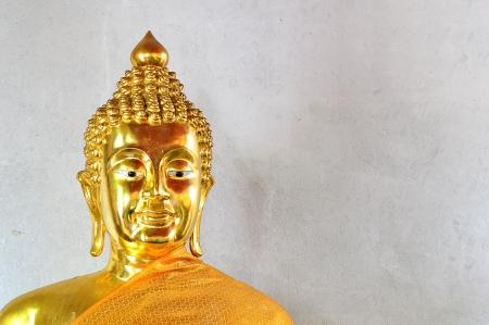 Thai Golden Buddha Statue  Buddha Statue in Thailand Stock Photo - 19510380