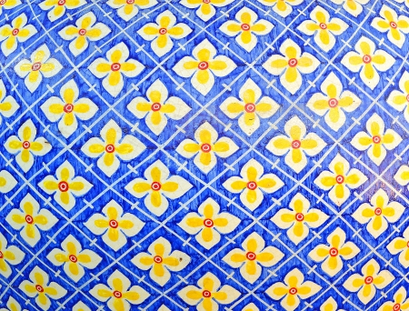 Seamless traditional mosaic pattern for backgrounds,coverag e outside of buildings