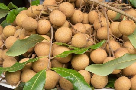 longan fruit in rural market