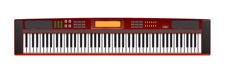 electric piano vector images